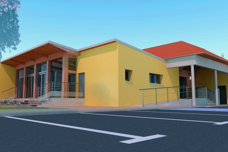 Mission complète de l'opération Coeur de Village à Cussey - Athias Architecte