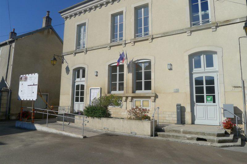 Réhabilitation de bâtiment communaux à Cussey - Athias Architecte