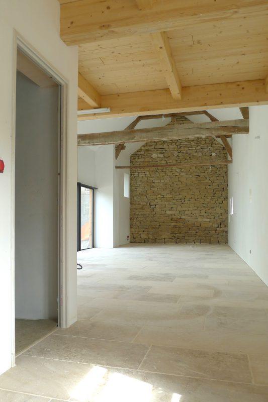 Rénovation des bâtiments d'une ferme ancienne - Vincent Athias Architecte