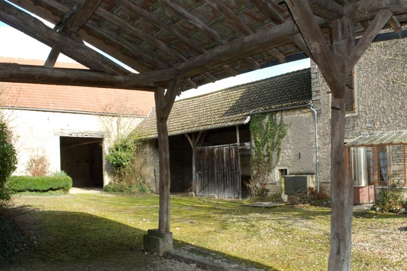 L'ancienne grange avant rénovation - Vincent Athias Architecte