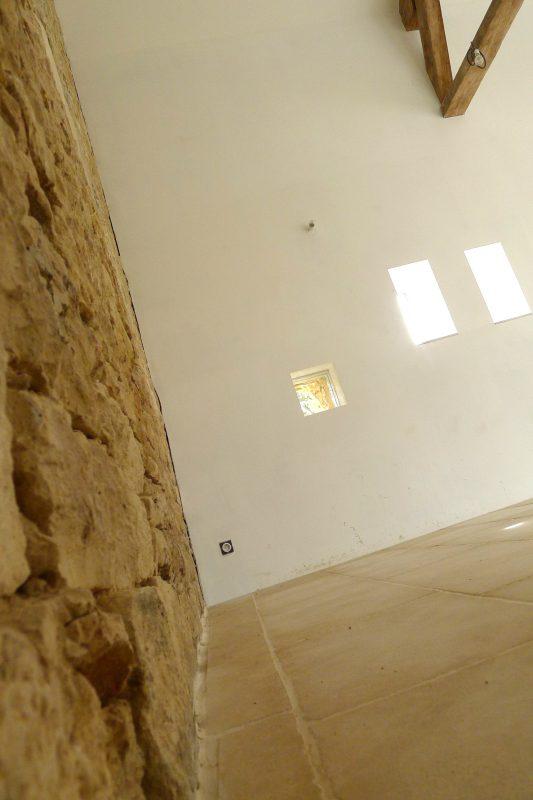 Détail intérieur du bâtiment rénové - Vincent Athias Architecte
