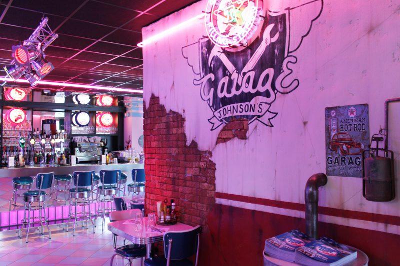 Décoration intérieure des restaurants American Way - Architecte Athias