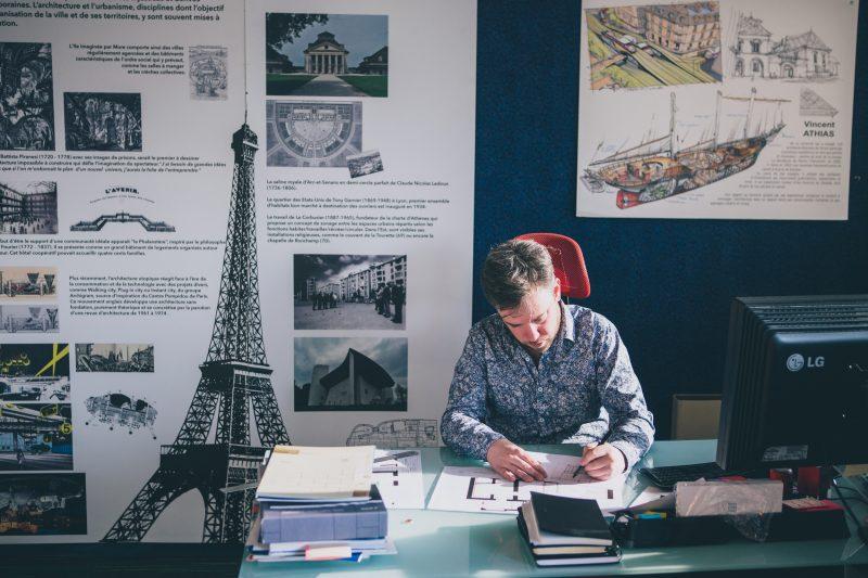 Présentation de l'agence Vincent Athias Architecte à Dijon