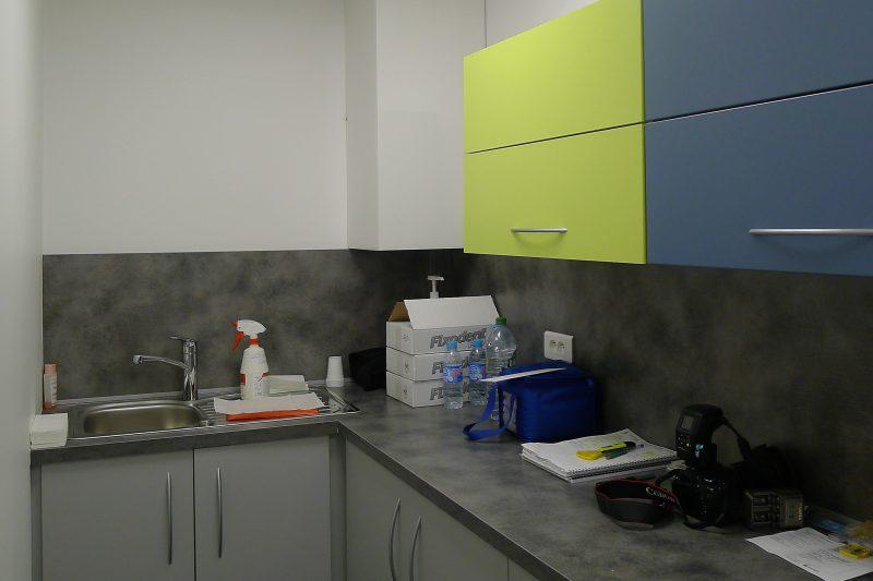 Agencement des locaux d'un cabinet dentaire à Seurre - Athias architecte