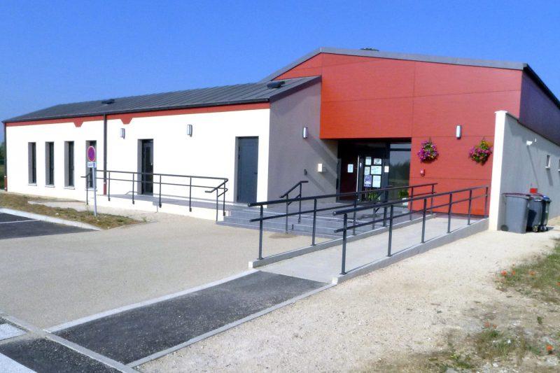Accessibilité de la salle communale du Vernois à Rémilly Sur Tille - Architecte Vincent Athias