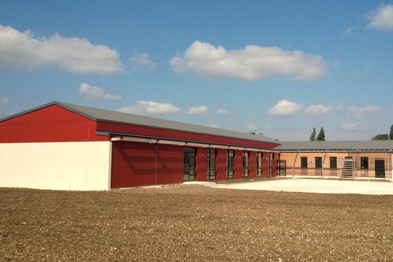 Construction d'une nouvelle salle communale à Rémilly Sur Tille - Architecte Vincent Athias
