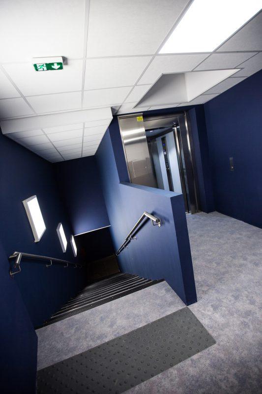 Les escaliers du Crusoé à Dijon - Athias Architecte