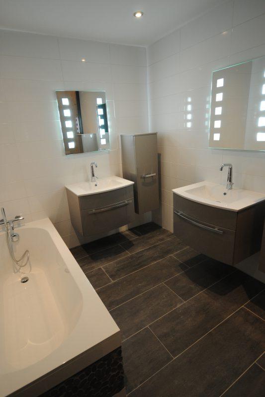 Aménagement de la salle de bain du loft Grevin - Athias Architecture