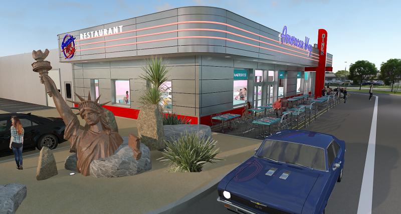 Un nouveau restaurant american way pour chalon sur sa ne for American nouveau cuisine