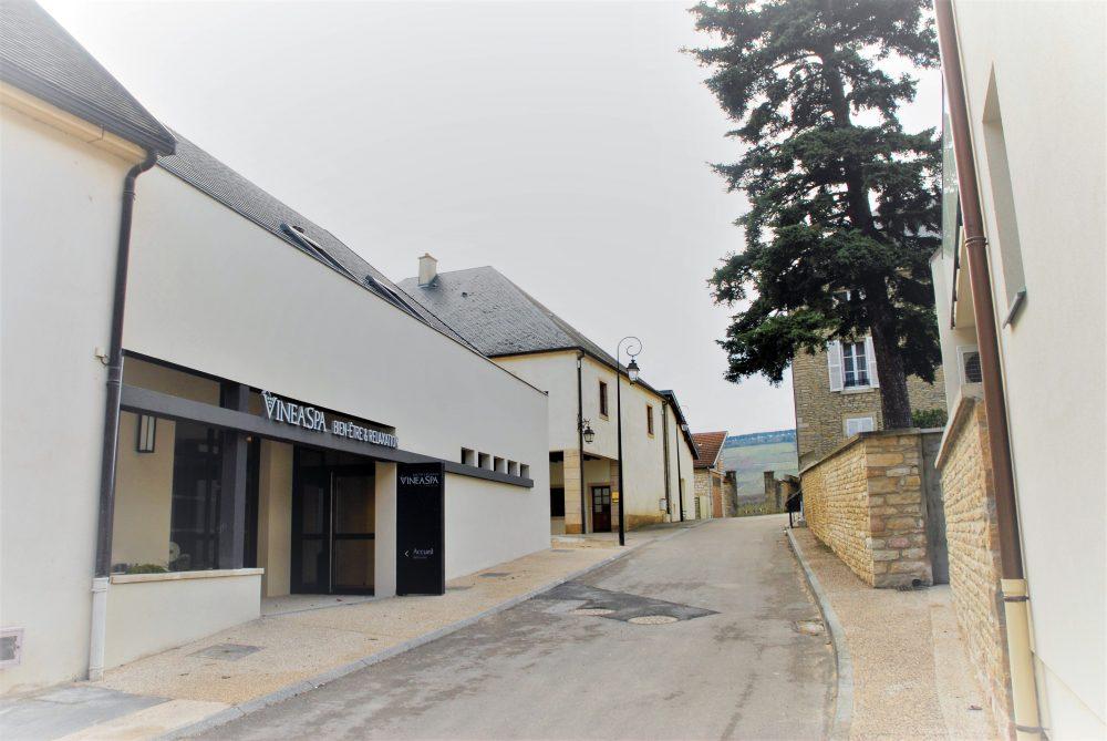 L'entrée de Vineaspa